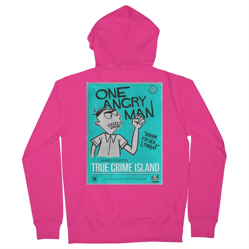 The Rage Range Men's Zip-Up Hoody by True Crime Island's Artist Shop