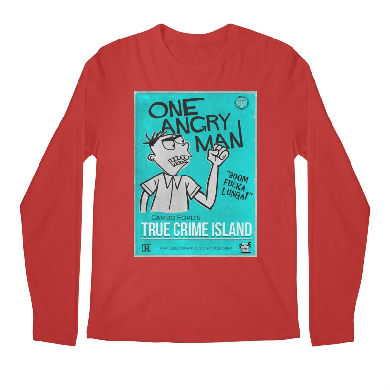 The Rage Range Men's Longsleeve T-Shirt by True Crime Island's Artist Shop