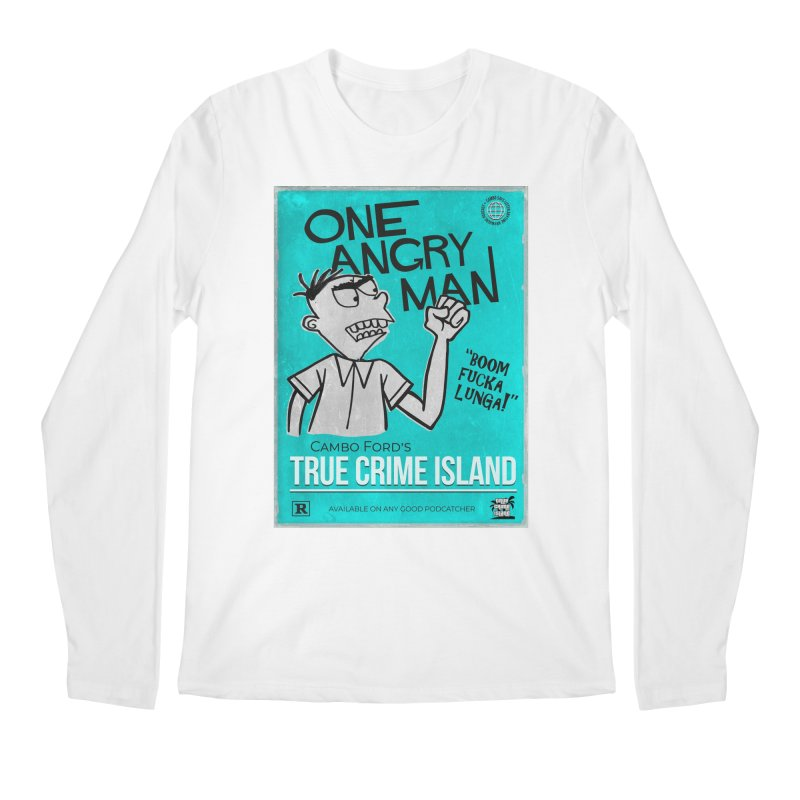 The Rage Range Men's Longsleeve T-Shirt by True Crime Island's Artist Shop