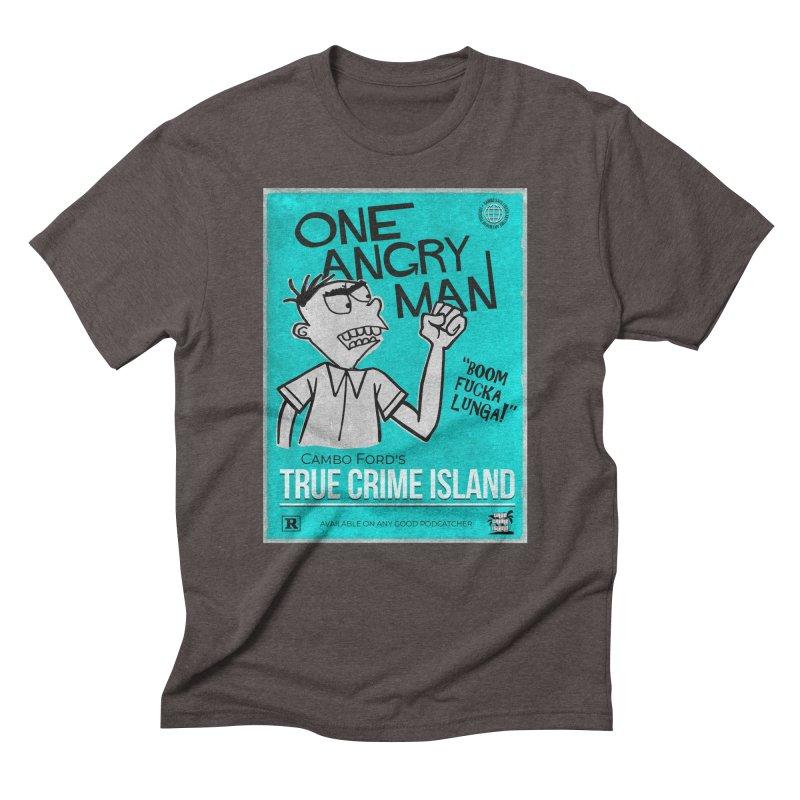 The Rage Range Men's Triblend T-Shirt by True Crime Island's Artist Shop