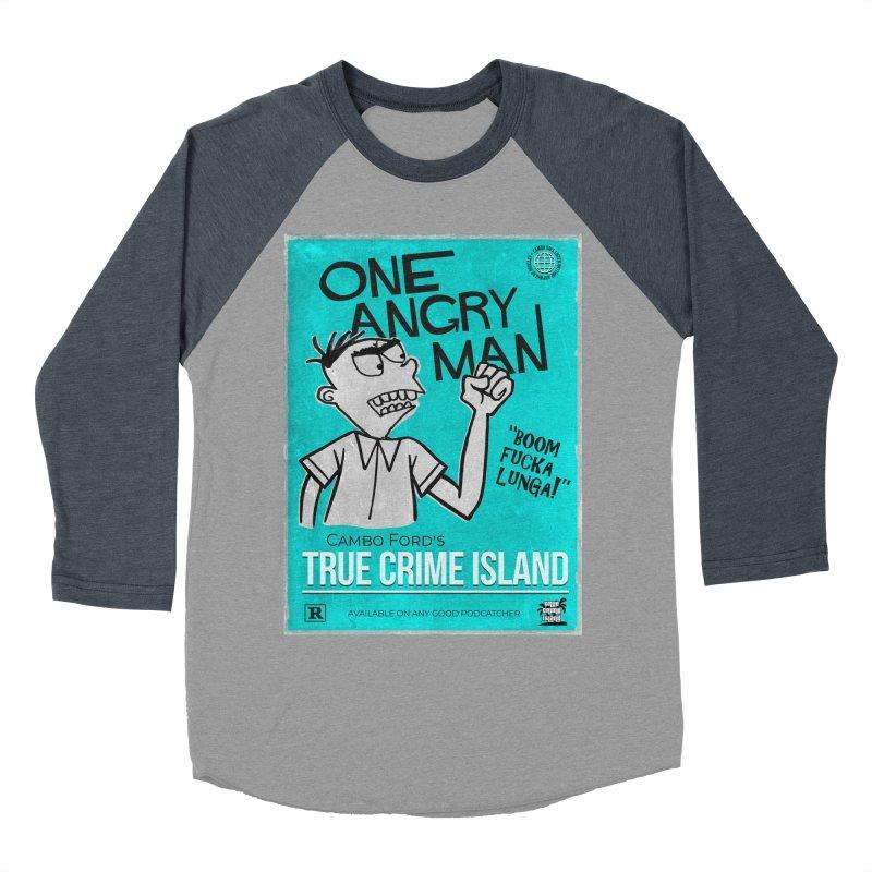 The Rage Range Women's Baseball Triblend Longsleeve T-Shirt by True Crime Island's Artist Shop