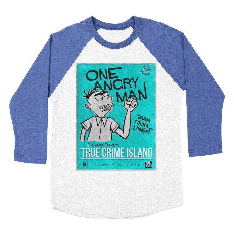 The Rage Range Men's Baseball Triblend Longsleeve T-Shirt by True Crime Island's Artist Shop