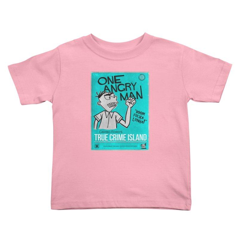 The Rage Range Kids Toddler T-Shirt by True Crime Island's Artist Shop