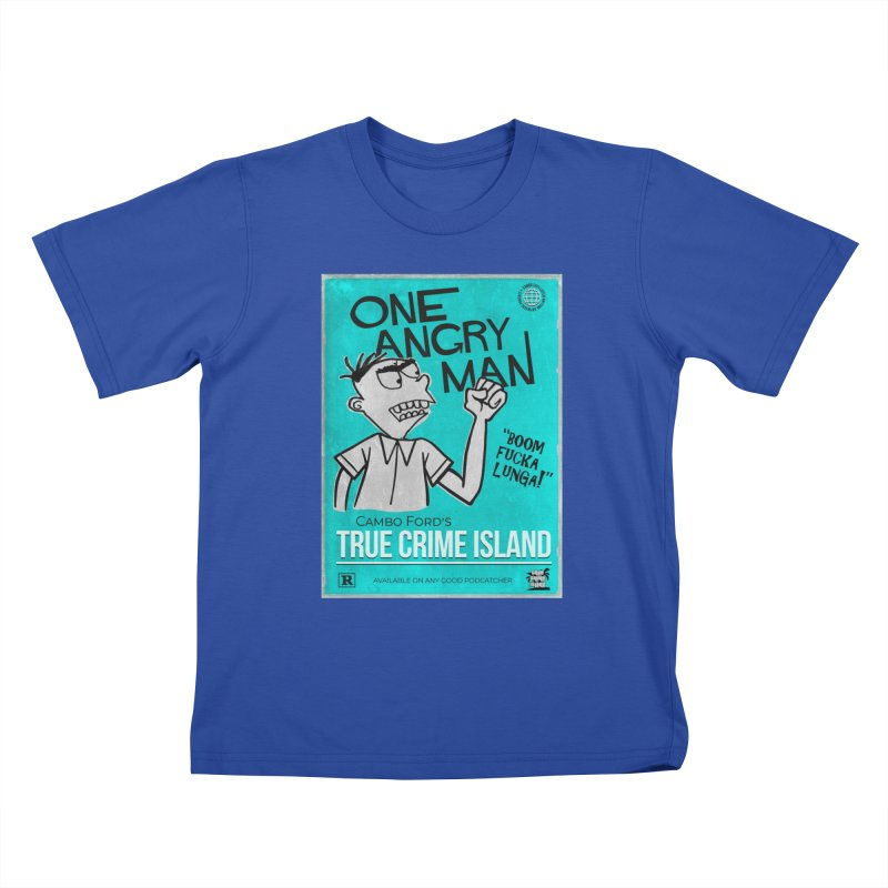 The Rage Range Kids T-Shirt by True Crime Island's Artist Shop