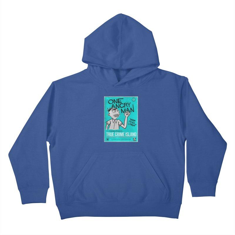 The Rage Range Kids Pullover Hoody by True Crime Island's Artist Shop