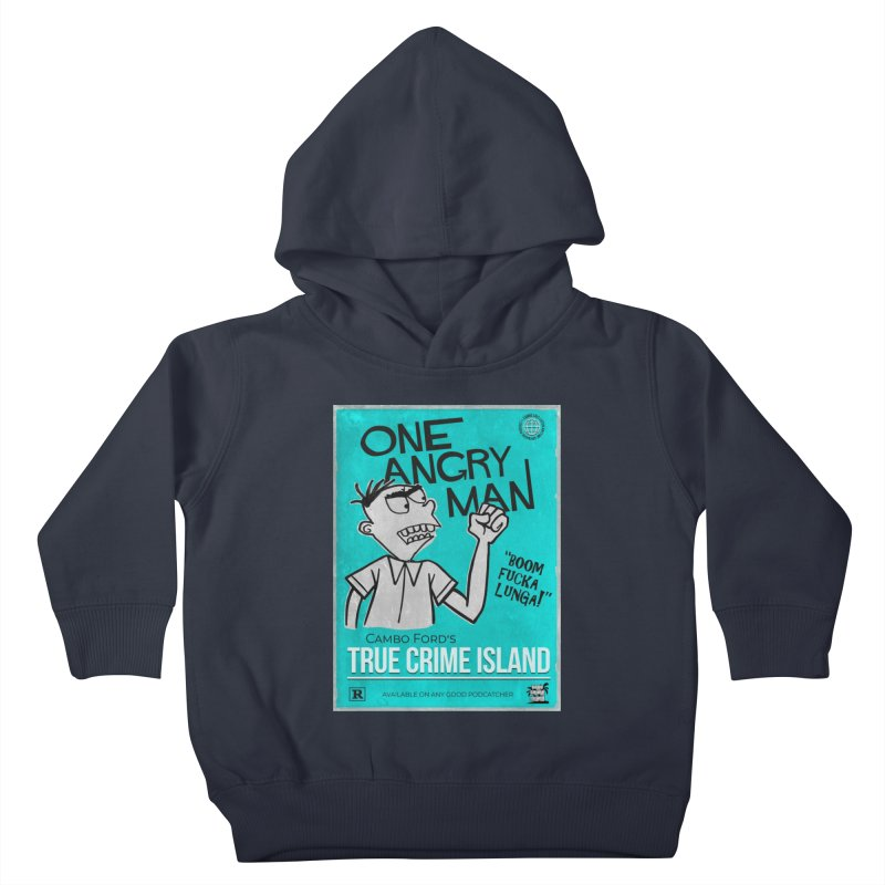 The Rage Range Kids Toddler Pullover Hoody by True Crime Island's Artist Shop