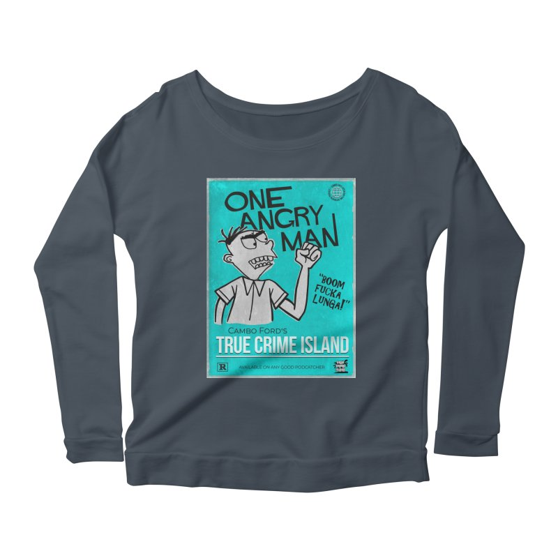 The Rage Range Women's Scoop Neck Longsleeve T-Shirt by True Crime Island's Artist Shop