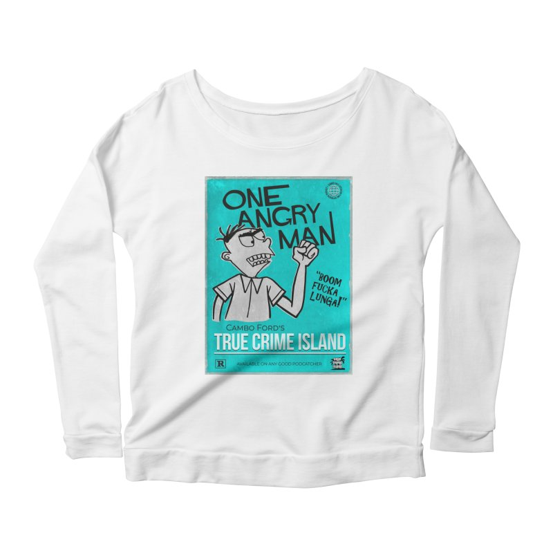 The Rage Range Women's Longsleeve T-Shirt by True Crime Island's Artist Shop