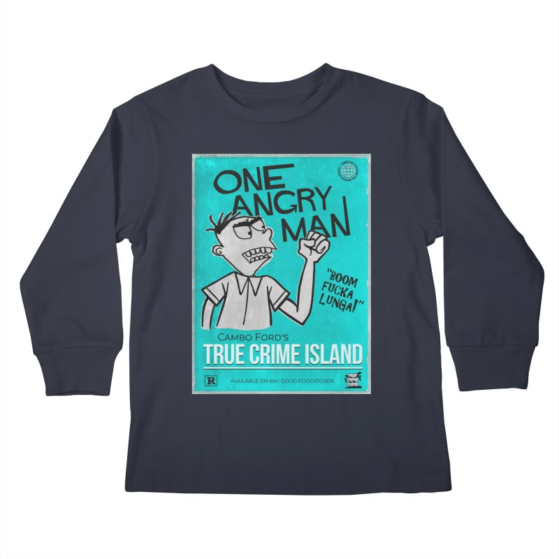 The Rage Range Kids Longsleeve T-Shirt by True Crime Island's Artist Shop
