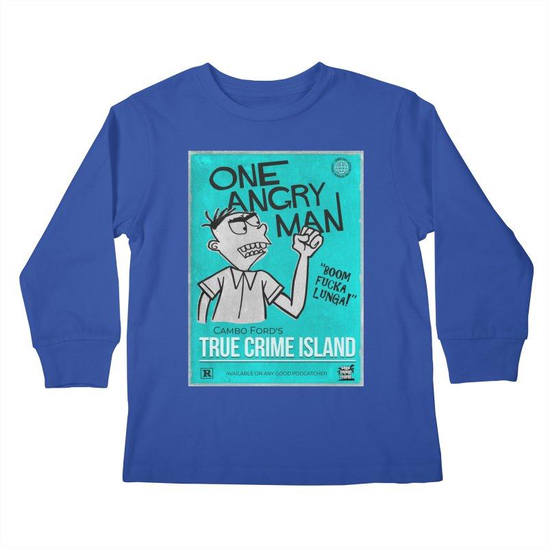 The Rage Range Kids Longsleeve T-Shirt by True Crime Island's Artist Shop