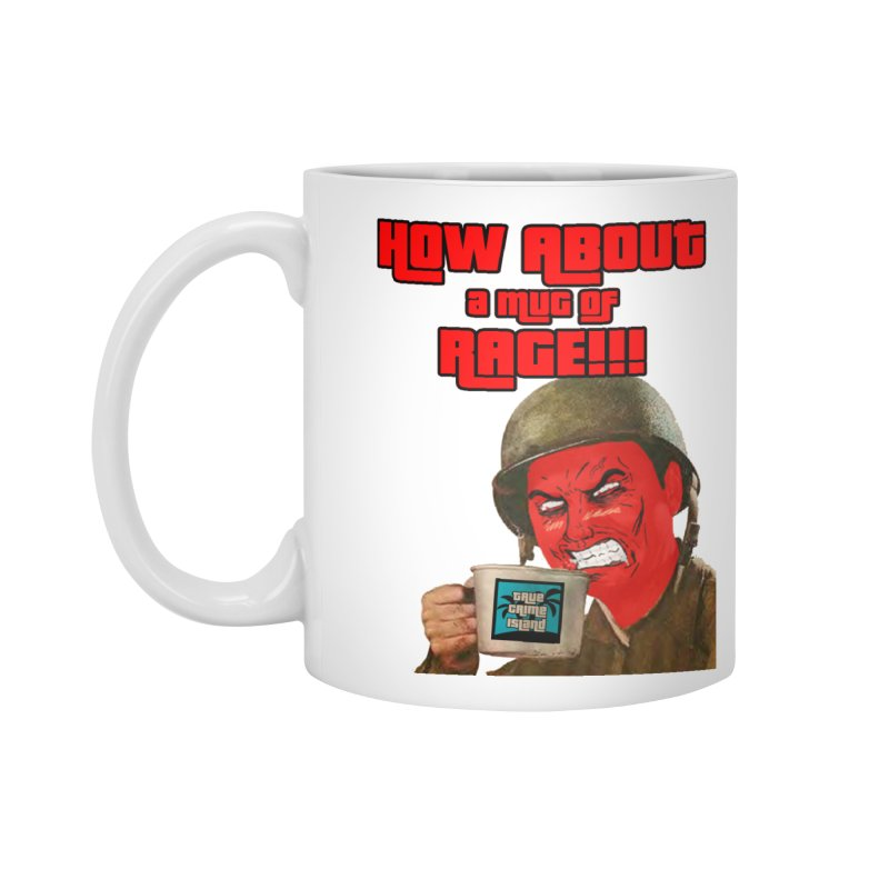 Mug of Rage Accessories Standard Mug by True Crime Island's Artist Shop