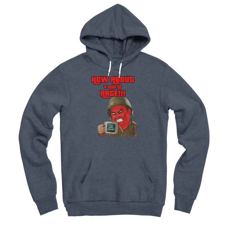 Mug of Rage Women's Pullover Hoody by True Crime Island's Artist Shop