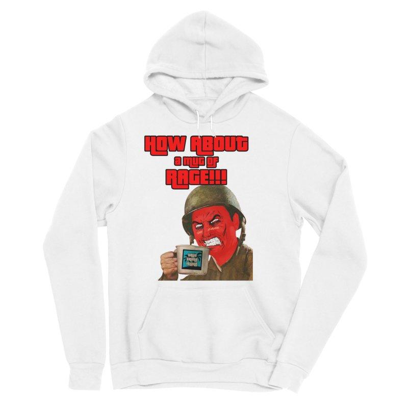 Mug of Rage Women's Sponge Fleece Pullover Hoody by True Crime Island's Artist Shop