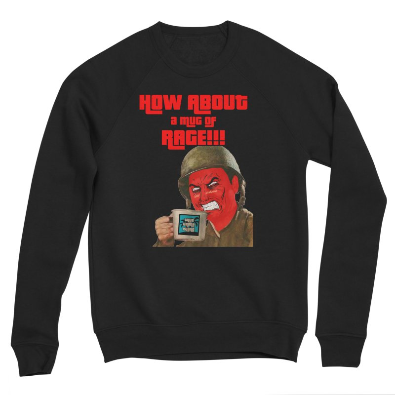 Mug of Rage Women's Sweatshirt by True Crime Island's Artist Shop