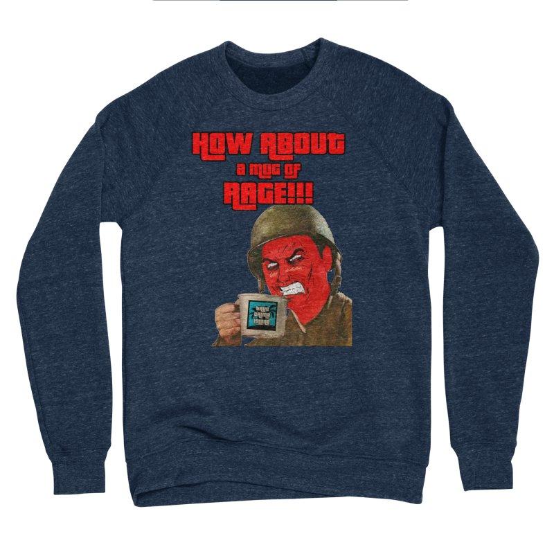 Mug of Rage Women's Sponge Fleece Sweatshirt by True Crime Island's Artist Shop
