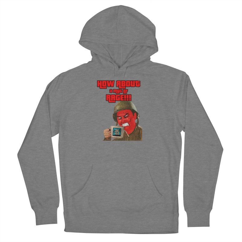 Mug of Rage Men's Pullover Hoody by True Crime Island's Artist Shop