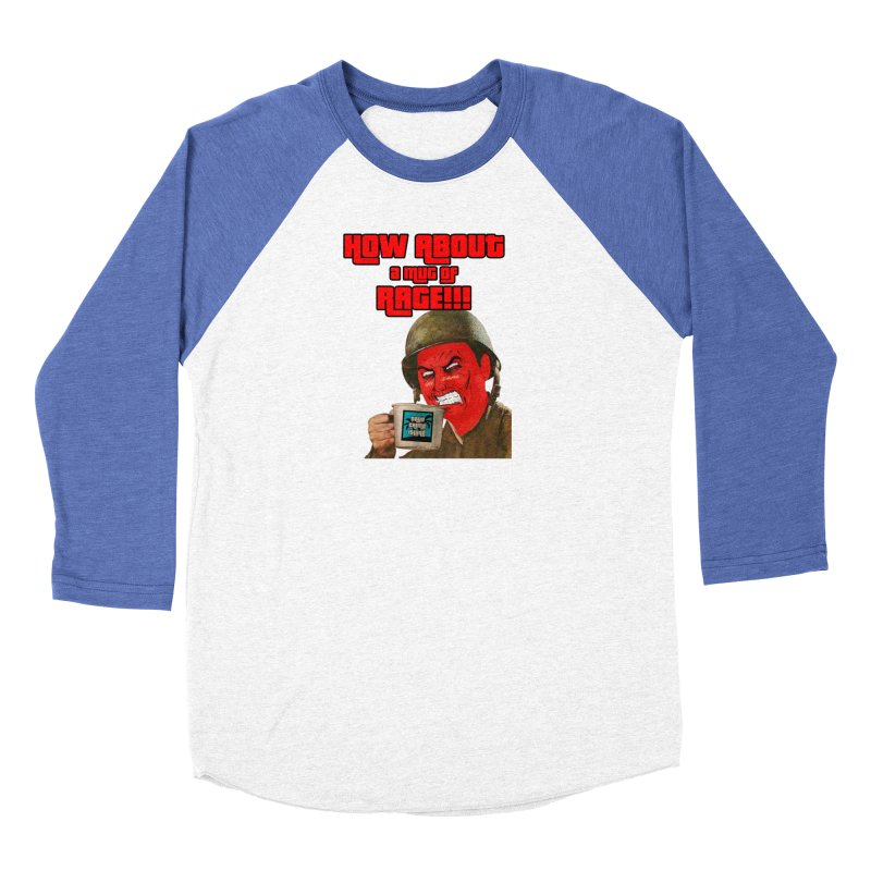 Mug of Rage Women's Longsleeve T-Shirt by True Crime Island's Artist Shop