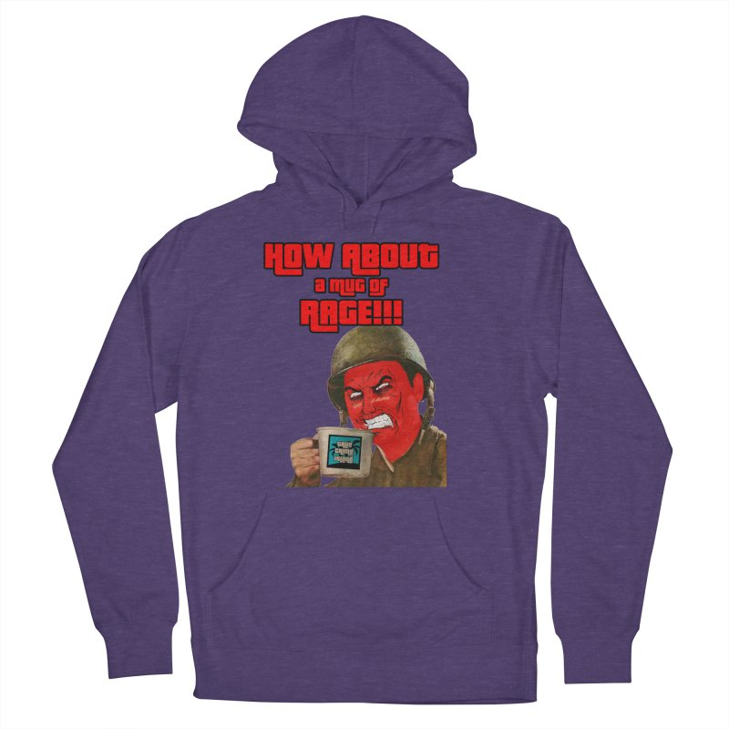 Mug of Rage Women's French Terry Pullover Hoody by True Crime Island's Artist Shop