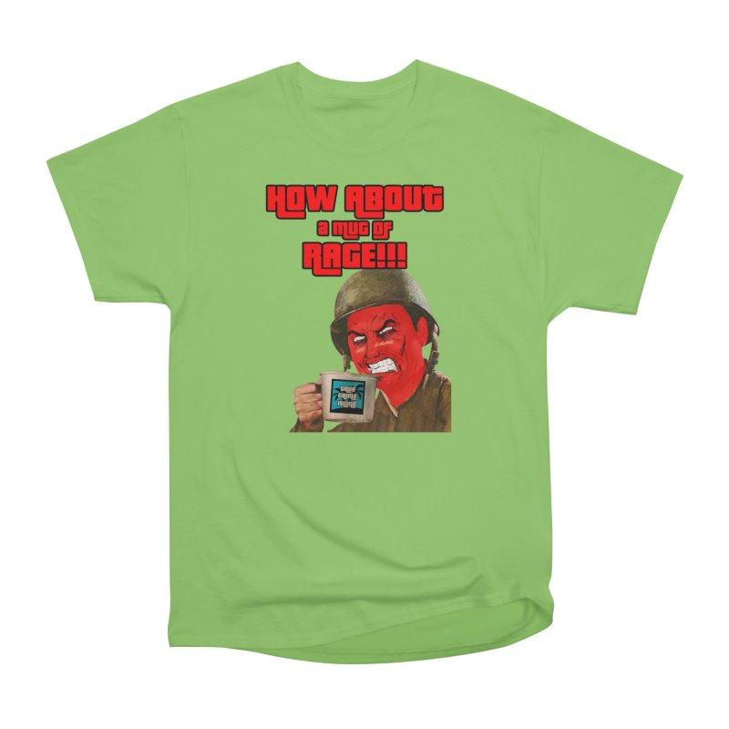Mug of Rage Women's T-Shirt by True Crime Island's Artist Shop