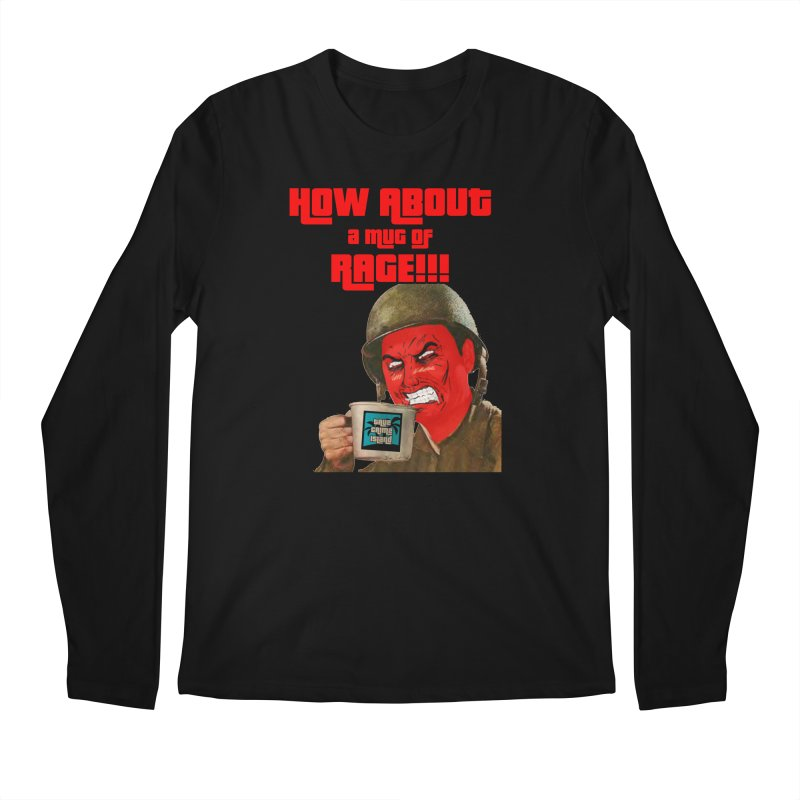 Mug of Rage Men's Longsleeve T-Shirt by True Crime Island's Artist Shop