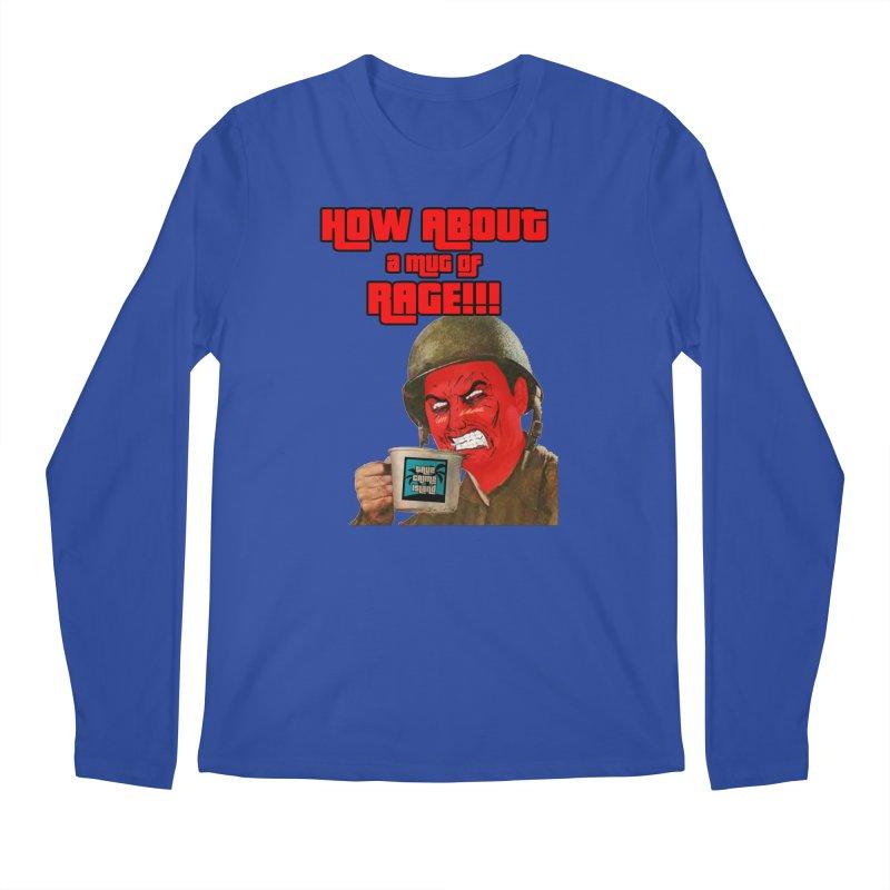 Mug of Rage Men's Longsleeve T-Shirt by True Crime Island's Artist Shop