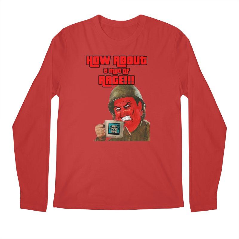 Mug of Rage Men's Regular Longsleeve T-Shirt by True Crime Island's Artist Shop