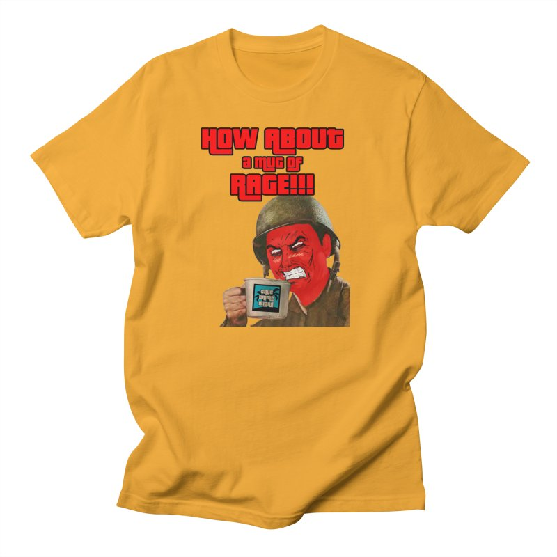 Mug of Rage Men's T-Shirt by True Crime Island's Artist Shop