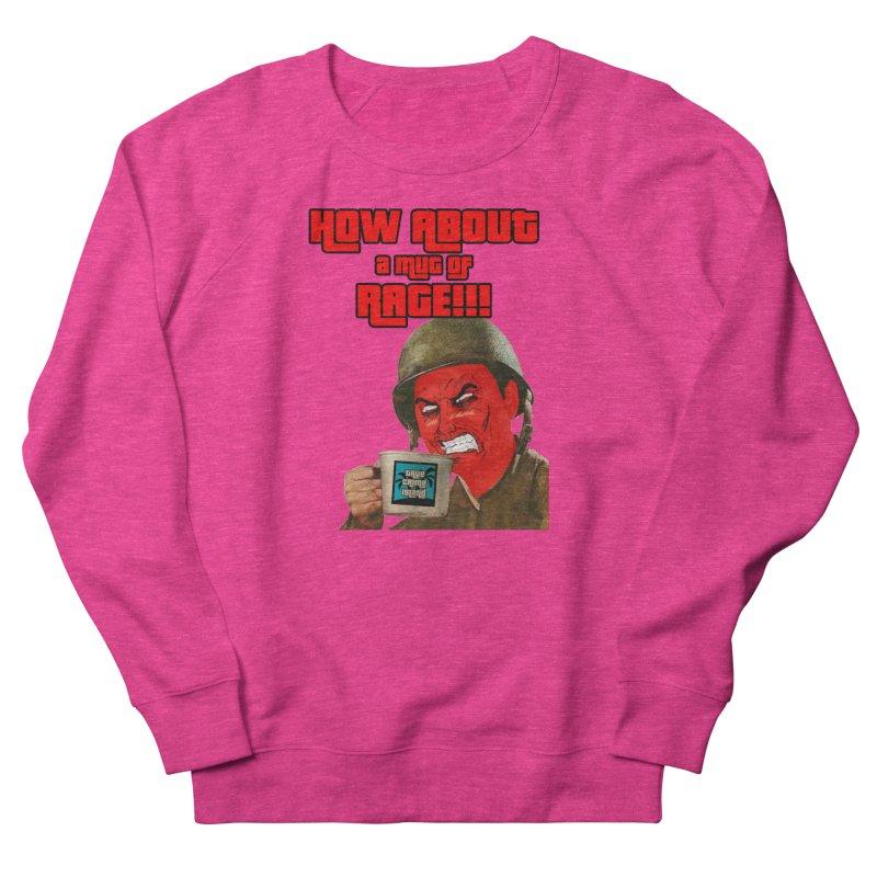 Mug of Rage Women's Sweatshirt by True Crime Island's Artist Shop