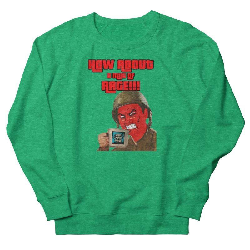 Mug of Rage Men's Sweatshirt by True Crime Island's Artist Shop