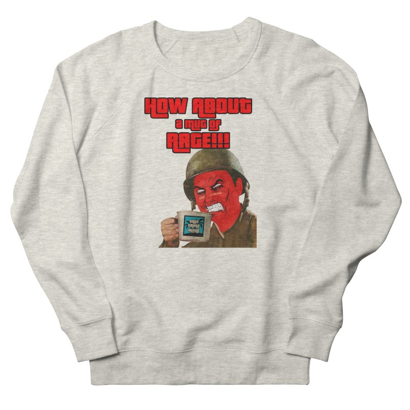 Mug of Rage Men's Sweatshirt by True Crime Island's Artist Shop