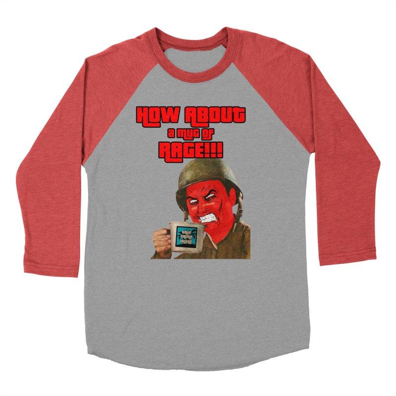 Mug of Rage Women's Baseball Triblend Longsleeve T-Shirt by True Crime Island's Artist Shop