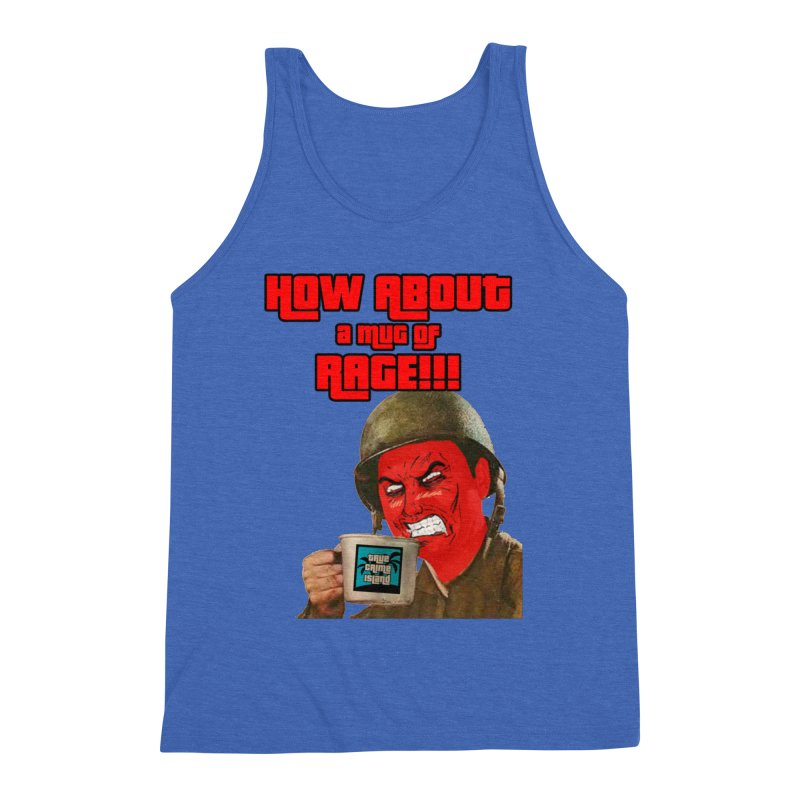 Mug of Rage Men's Tank by True Crime Island's Artist Shop