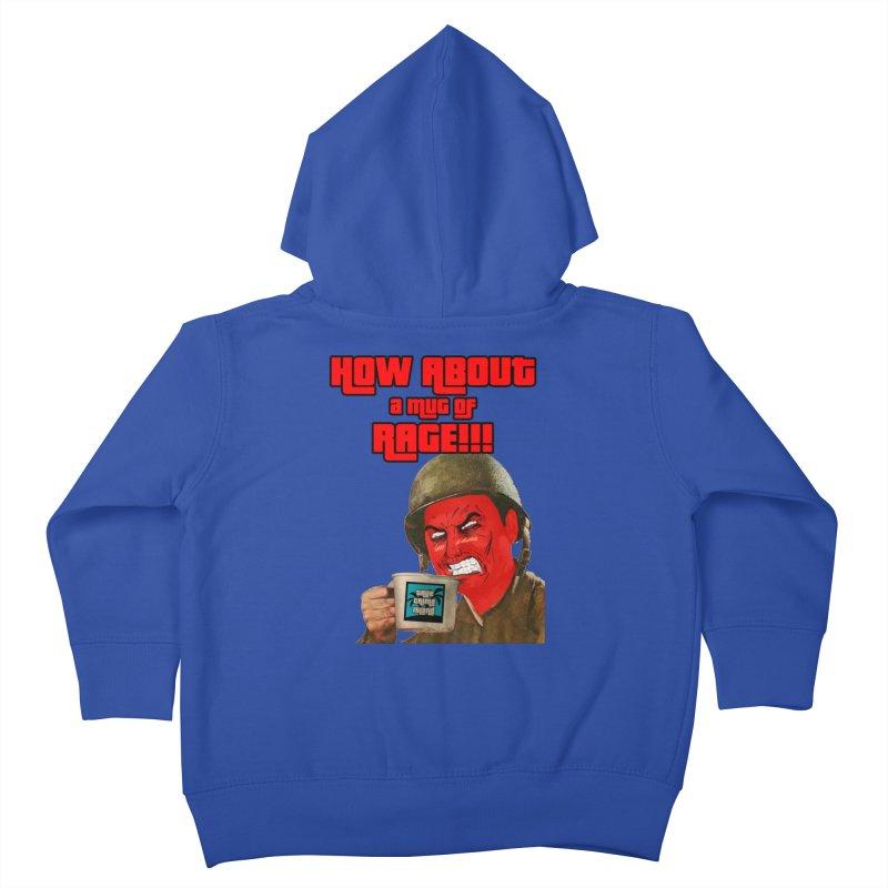 Mug of Rage Kids Toddler Zip-Up Hoody by True Crime Island's Artist Shop