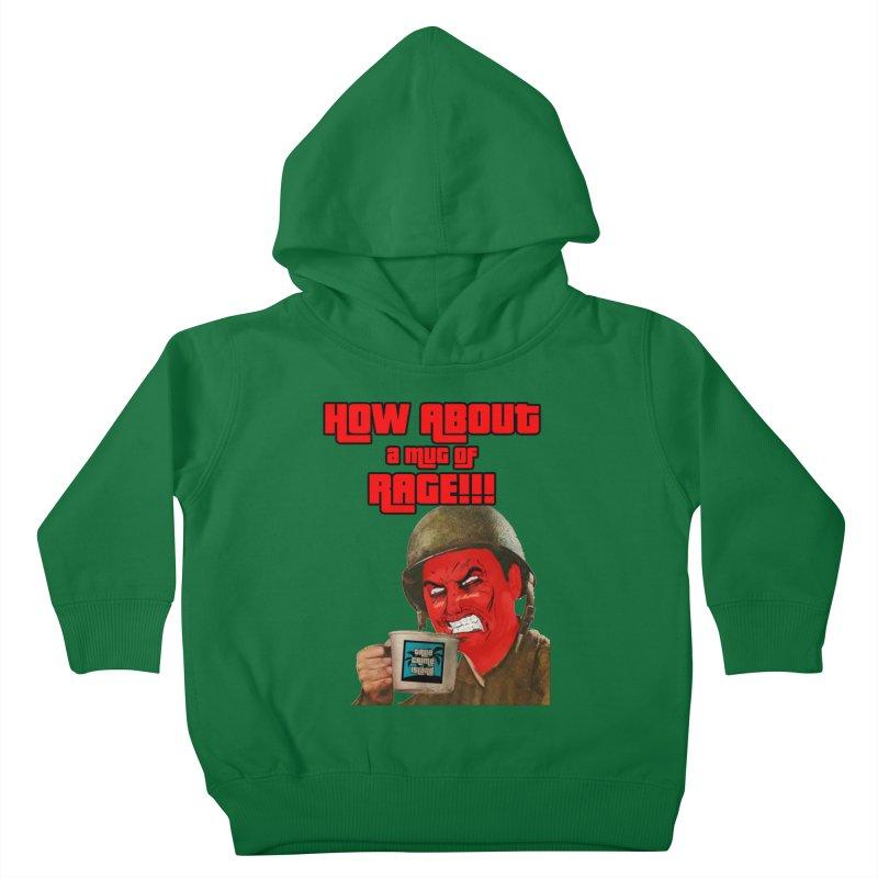 Mug of Rage Kids Toddler Pullover Hoody by True Crime Island's Artist Shop