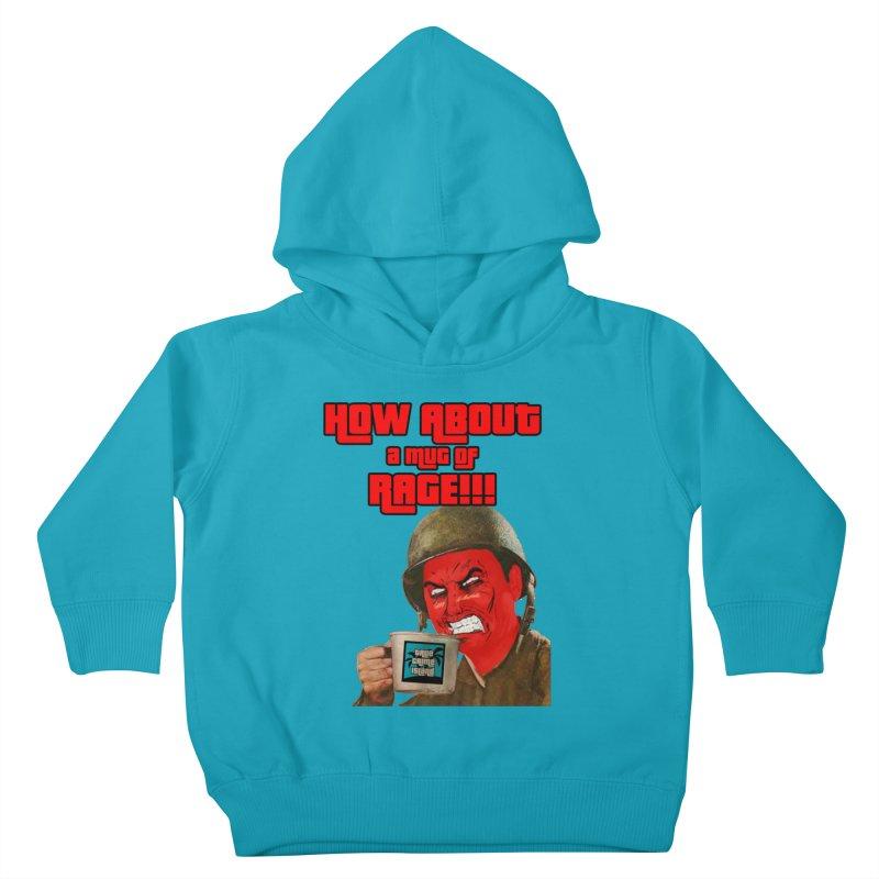 Mug of Rage Kids Toddler Pullover Hoody by True Crime Island's Artist Shop