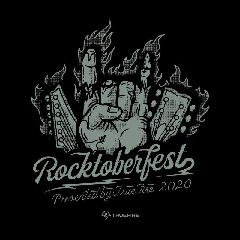 TrueFire's 2020 Rocktoberfest - green Women's T-Shirt by TrueFire Merch Shop