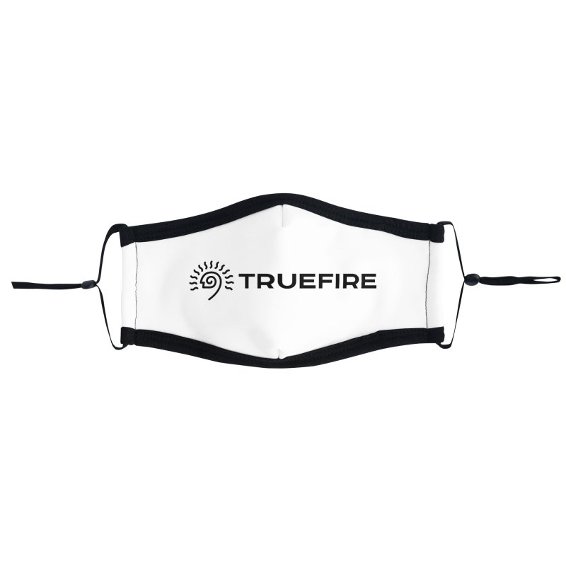 TrueFire - black Accessories Face Mask by TrueFire Merch Shop