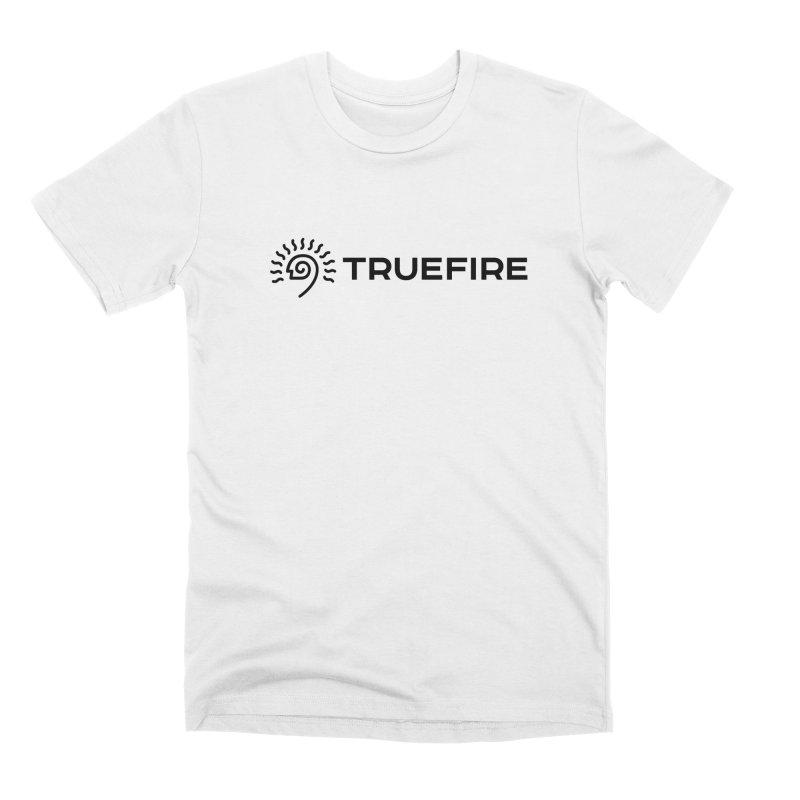TrueFire - black Men's T-Shirt by TrueFire Merch Shop