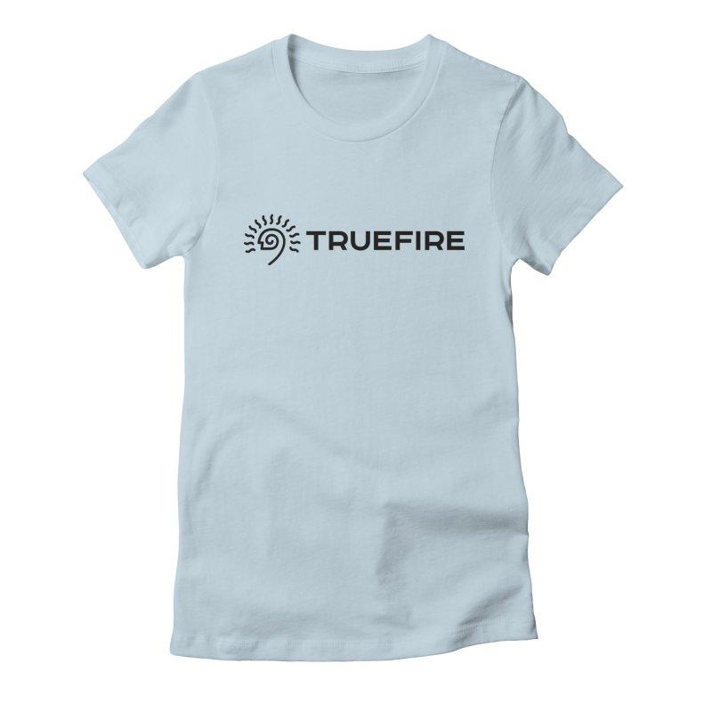 TrueFire - black Women's T-Shirt by TrueFire Merch Shop