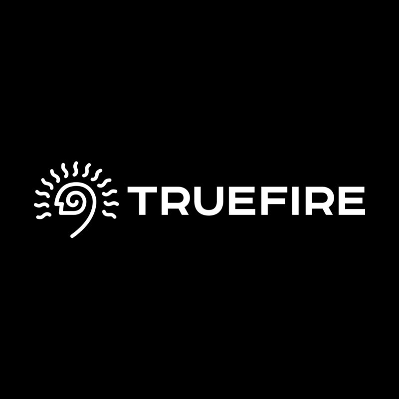 TrueFire - white Men's T-Shirt by TrueFire Merch Shop