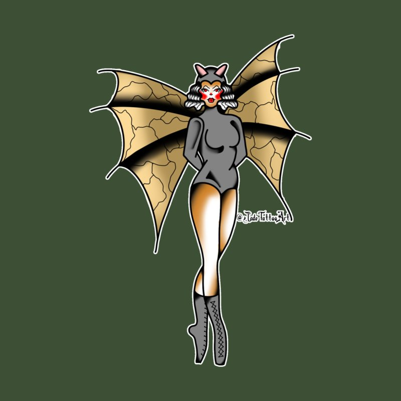 BATWING PINUP BY JADE R. Home Duvet by True Love Tattoo Studios Shop