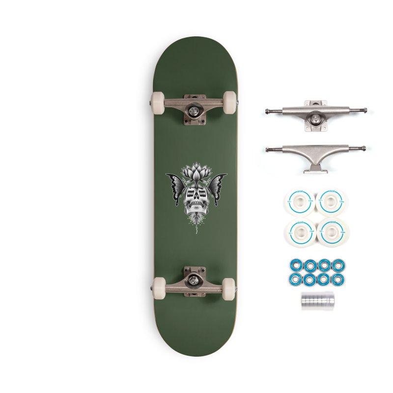 DEATH AND BEAUTY BY LUKE PUKE Accessories Skateboard by True Love Tattoo Studios Shop