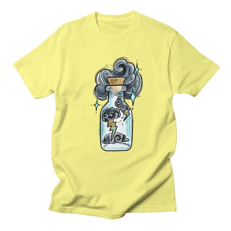 Lightning in a Bottle By Constantina Men's T-Shirt by True Love Tattoo Studios Shop