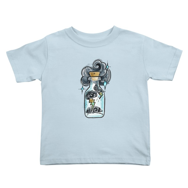 Lightning in a Bottle By Constantina Kids Toddler T-Shirt by True Love Tattoo Studios Shop