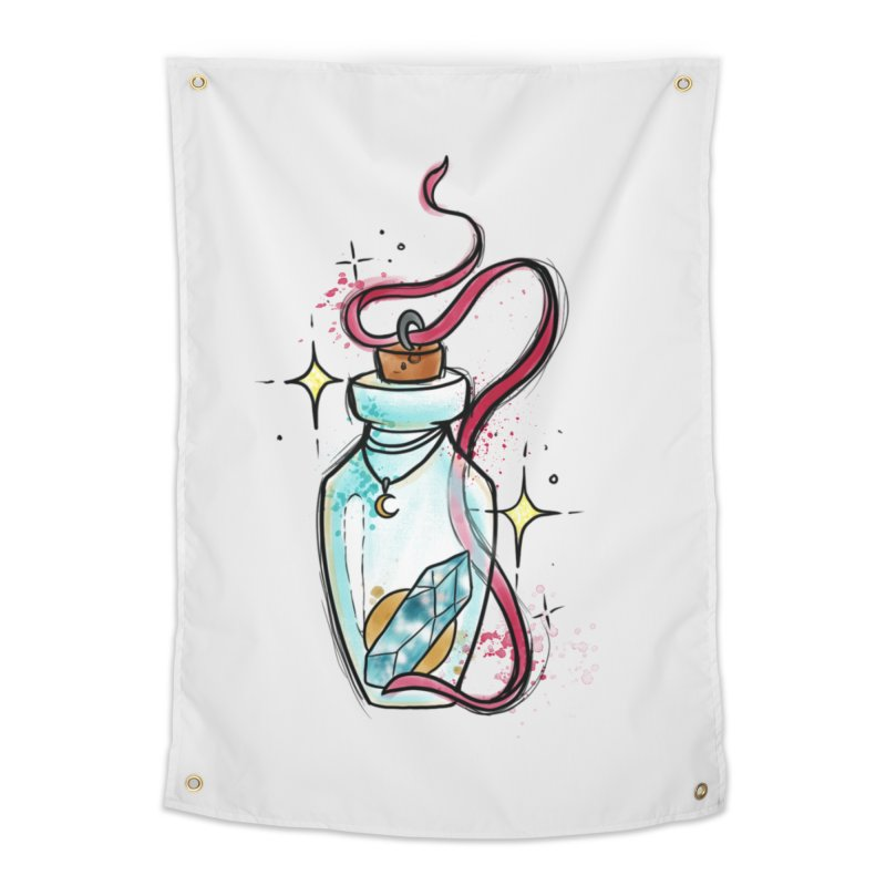 Crystal Magic By Constantina Home Tapestry by True Love Tattoo Studios Shop