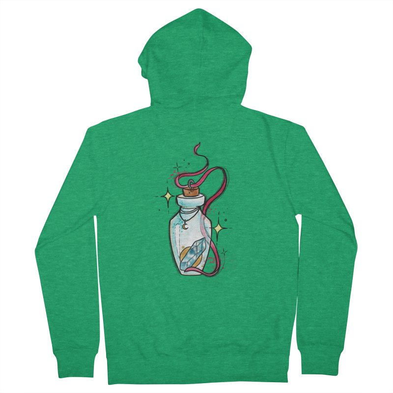 Crystal Magic By Constantina Men's Zip-Up Hoody by True Love Tattoo Studios Shop