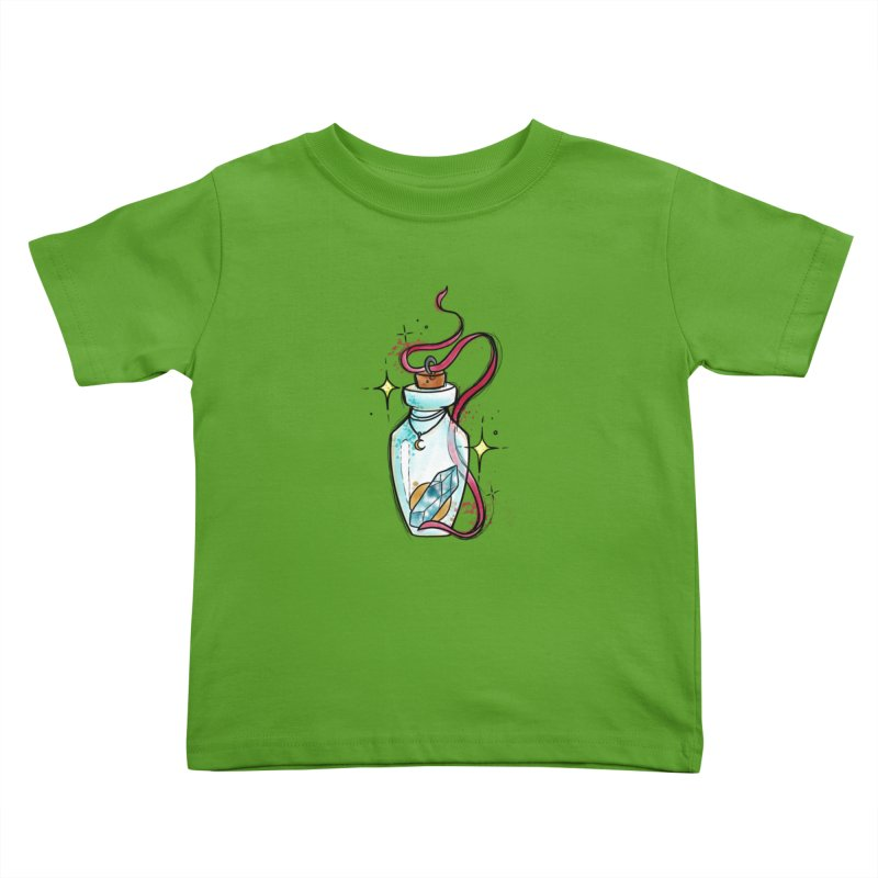Crystal Magic By Constantina Kids Toddler T-Shirt by True Love Tattoo Studios Shop
