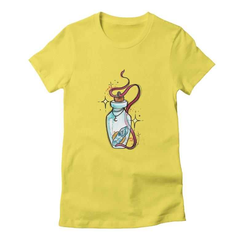 Crystal Magic By Constantina Women's T-Shirt by True Love Tattoo Studios Shop