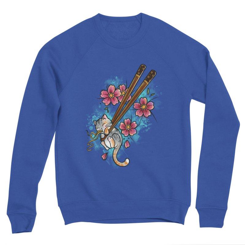 Chopstick Kitten By Constantina Women's Sweatshirt by True Love Tattoo Studios Shop