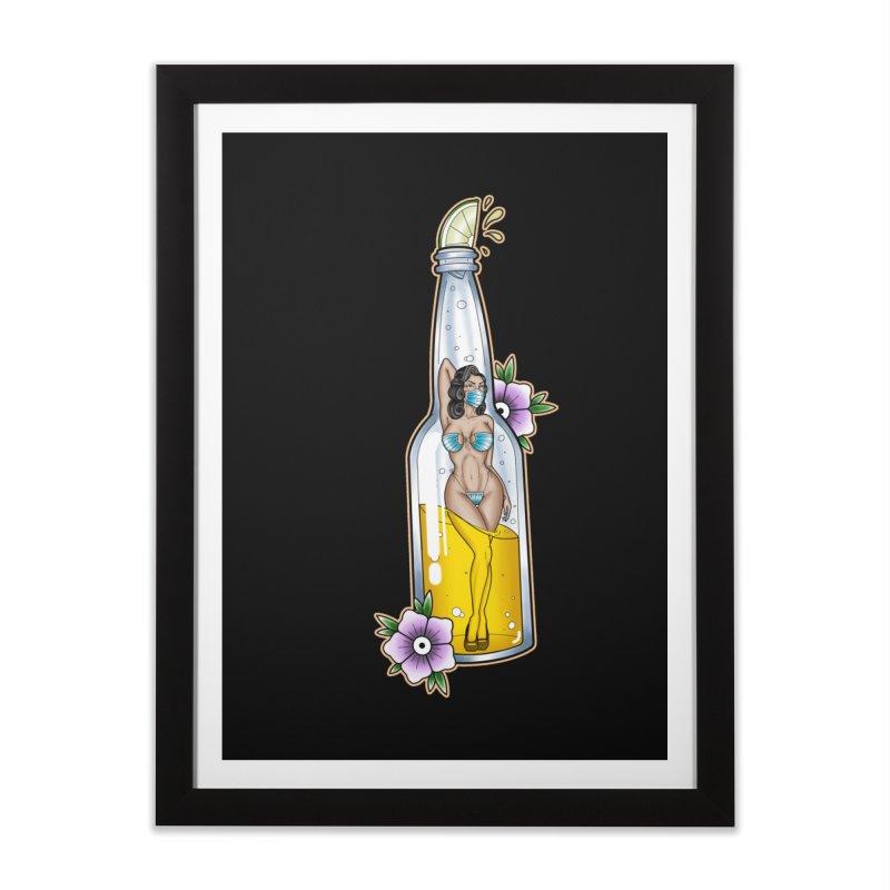 Coronita-Lite By Nirvana Home Framed Fine Art Print by True Love Tattoo Studios Shop